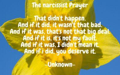 Hoe ga je om met een narcist als ex?